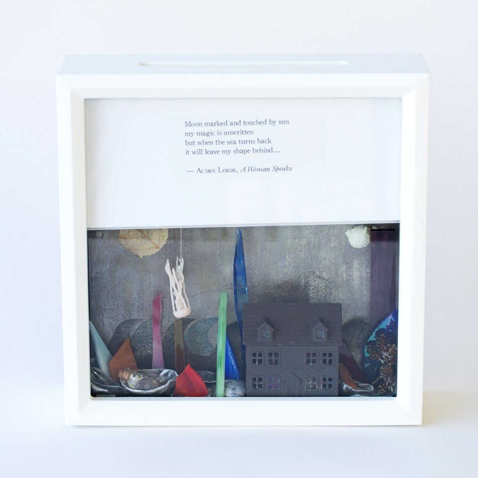 Tiny Writes Audre Lorde Poetry Shadowbox