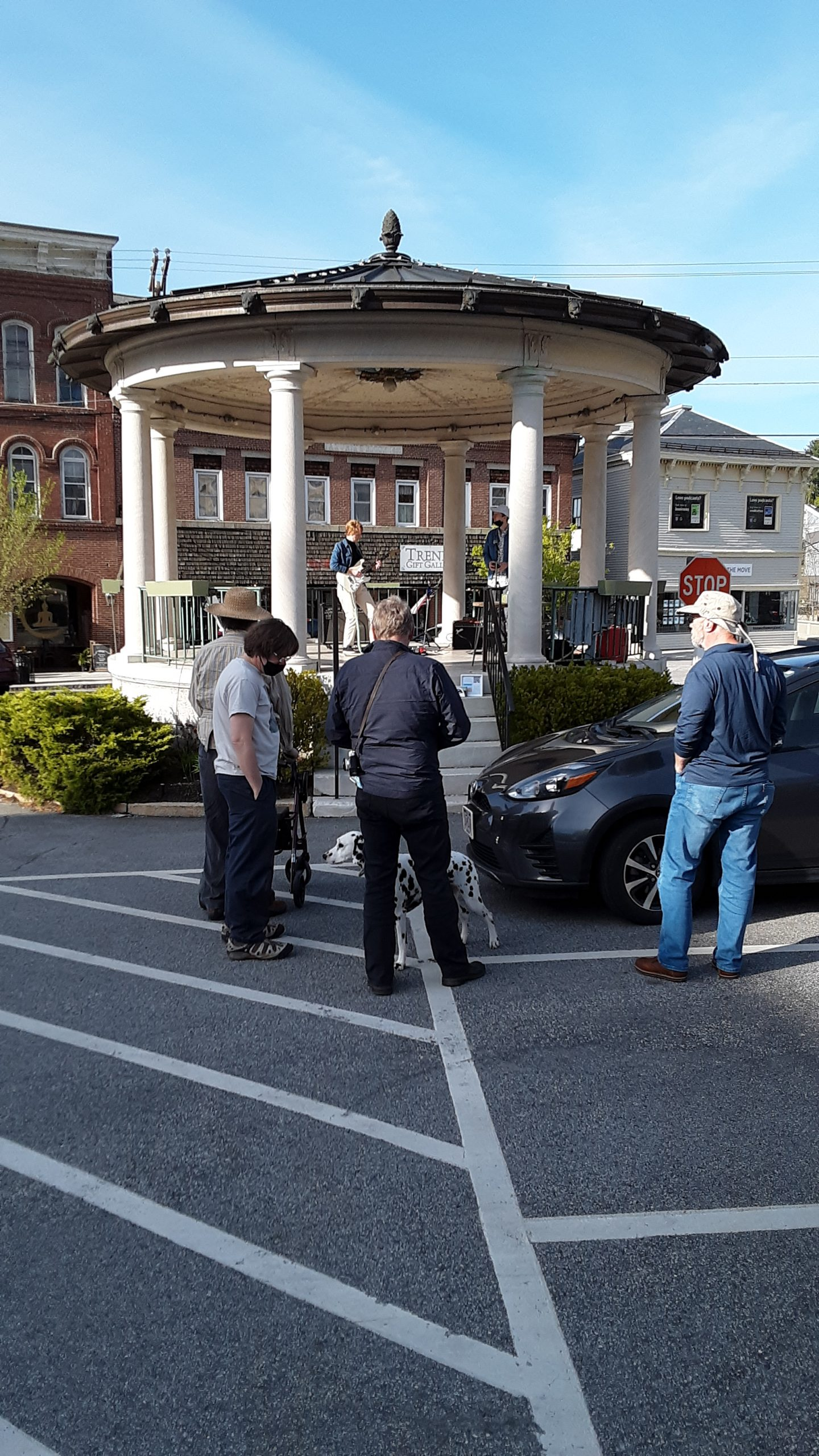 Exeter NH Bandstand Music