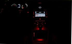 Carandgas- Passat CC - Interior nocturna