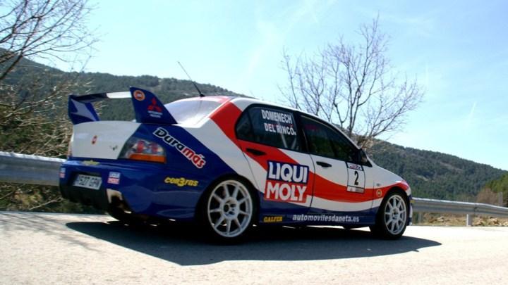 Angel Domenech - CARandGAS - RallySprint Canencia 2013
