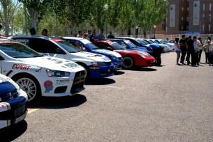 RallySprint Arganda parque cerrado