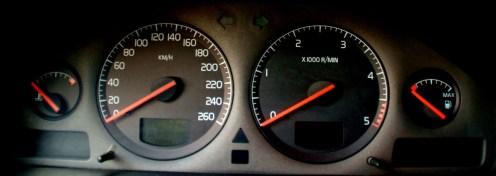 Volvo S80 marcador