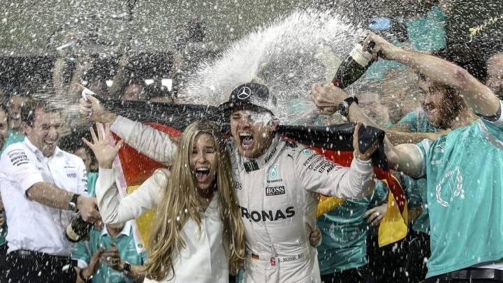 Nico Rosberg celebracion