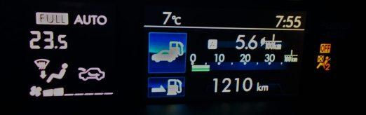 Subaru XV Autonomía