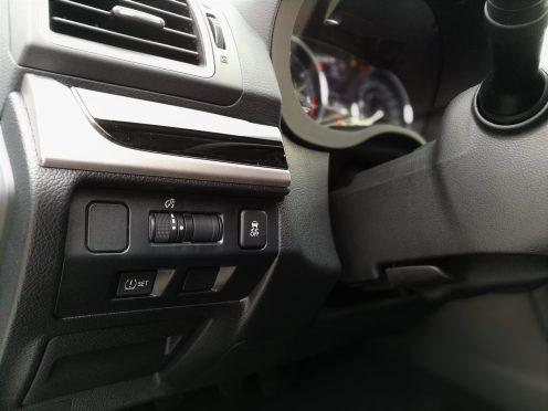 Subaru XV Boxer Diesel botones