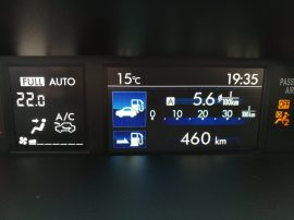 Subaru XV Boxer Diesel consumo