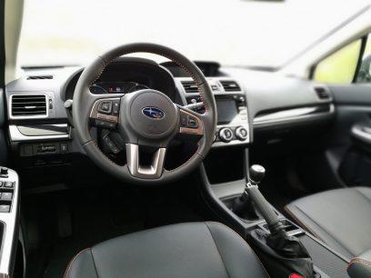 Subaru XV Boxer Diesel interior conductor