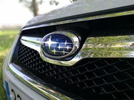 Subaru XV Boxer Diesel logo frontal