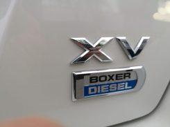 Subaru XV Boxer Diesel logos