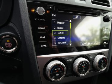 Subaru XV Boxer Diesel pantalla multimedia