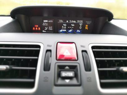 Subaru XV Boxer Diesel pantalla ordenador