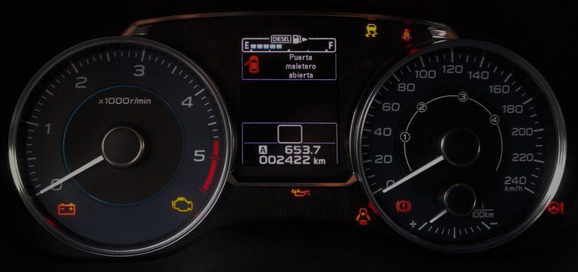 Subaru XV Boxer Diesel relojes
