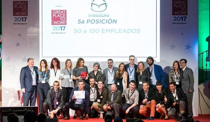Mazda Mejor empresa para trabajar 2017