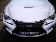 Toma de aire capó Lexus RC F