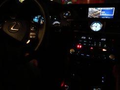 Interior iluminado Lexus RC F