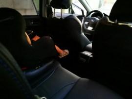 Subaru Levorg. Sillita bebé