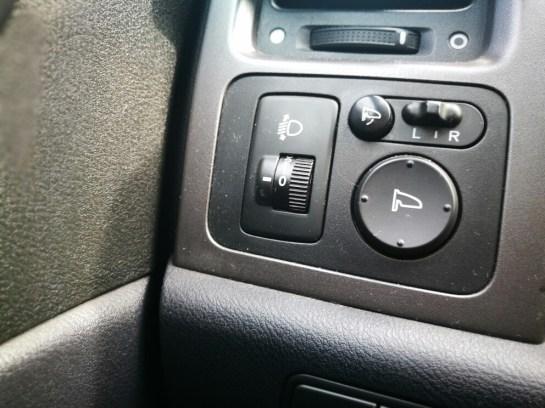Honda CRV i-CDTi 2008 retrovisores