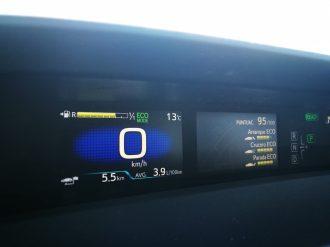 Display Toyota Prius