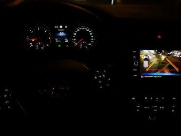 Vista nocturna VW Tiguan