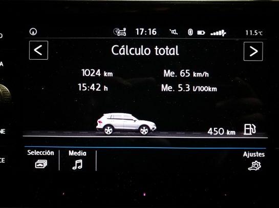 Consumos Tiguan 2.0 TDI 115