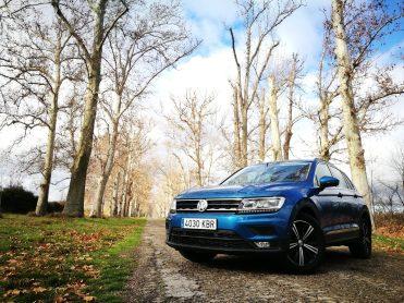 Frontal VW Tiguan Advance