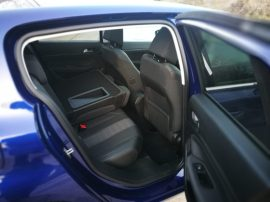 Espacio plazas traseras Peugeot 308 Allure