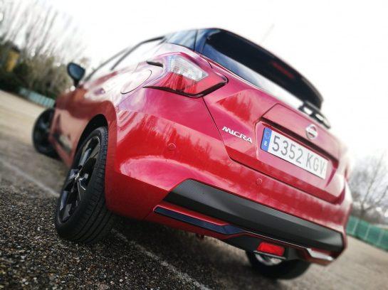 Nissan Micra Trasera