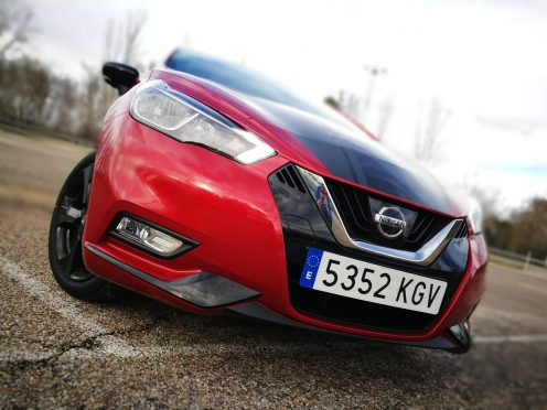 Nissan Micra Frontal