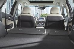Ford Edge - Asientos abatidos
