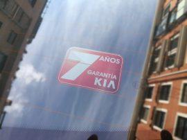 7 años de garantía Kia