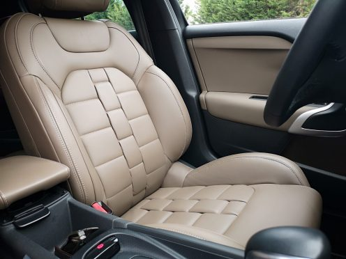 Prueba DS4 Crossback - asientos