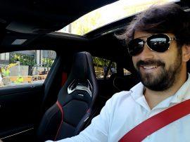 Jorge Méndez Mercedes Benz CLA AMG 45 Shooting Brake
