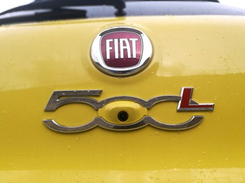 Fiat 500 L Cross cámara