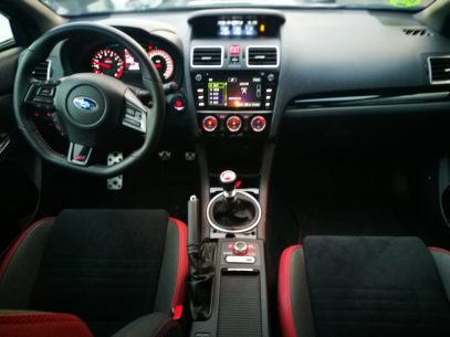 Vista Interior WRX STI