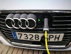 Audi A3 e-tron toma de carga