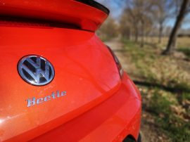 Logo VW apertura maletero