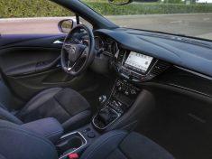 Plazas delanteras Opel Astra GSI Line
