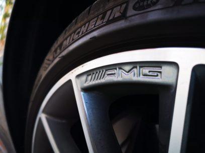 """Detalle AMG llantas 20"""""""