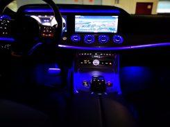 Detalle iluminación interior