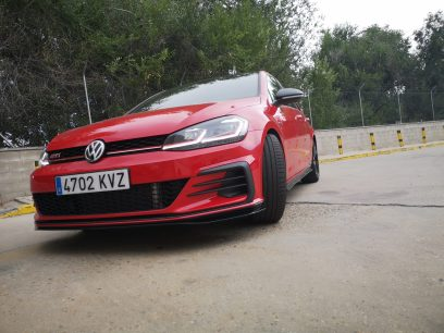 Golf GTI TCR - Frontal- CAR and GAS