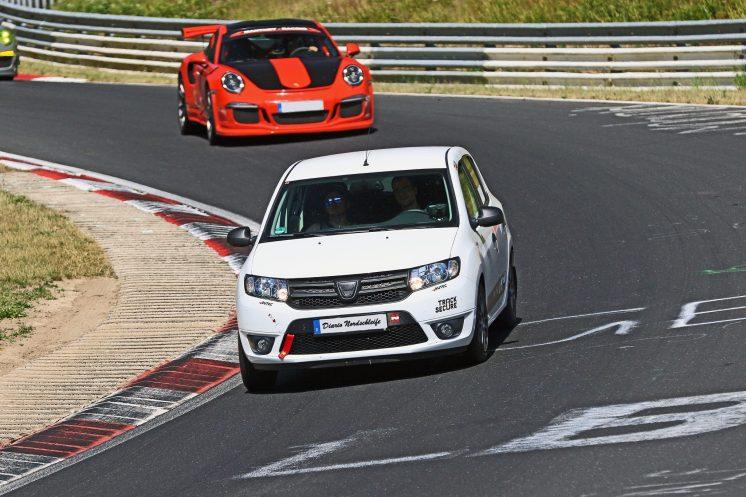 Sandering en Nürburgring