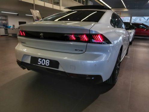Peugeot 508 GT Line Blanco nacarado