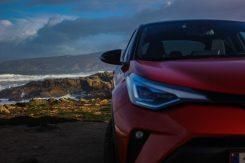 Nuevas ópticas delanteras Toyota C-HR 2020