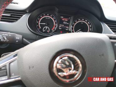 Velocímetro Skoda Octavia RS TDI