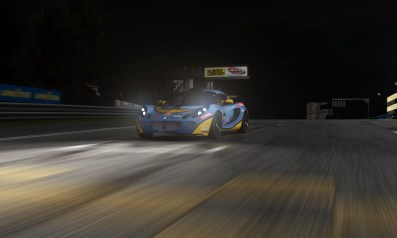 Carrera nocturna Lotus Exige