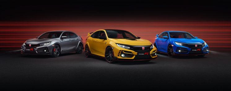 2020 Civic Type R Range - Type R Sport Line & Type R Limited Edition & Type R GT