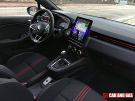 Interior Clio RS Line