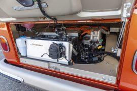 Motor eléctrico situado en la parte trasera