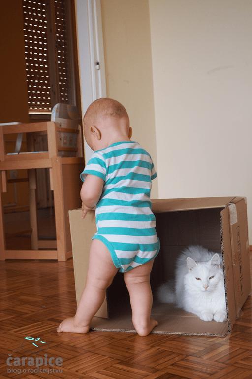 Mačka i beba