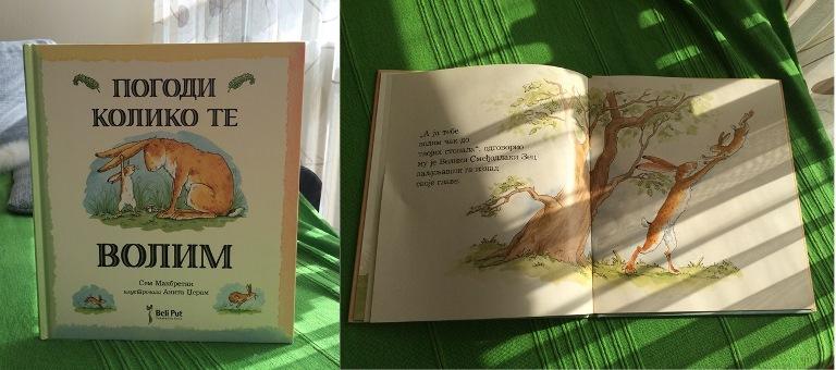 Pogodi koliko te volim - knjiga za decu